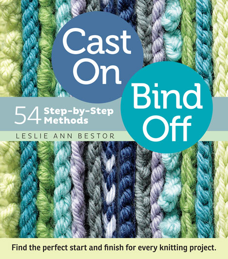 Casting Off Stitches For Knitting : cast on bind off for knitting patterns
