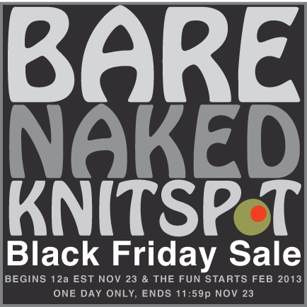 Bare Naked Knitspot Yarn Club