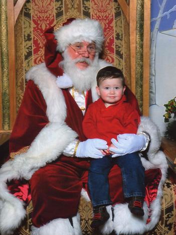 Padraig w Santa 2013