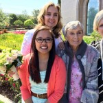 four generations of women on kim's side of the family