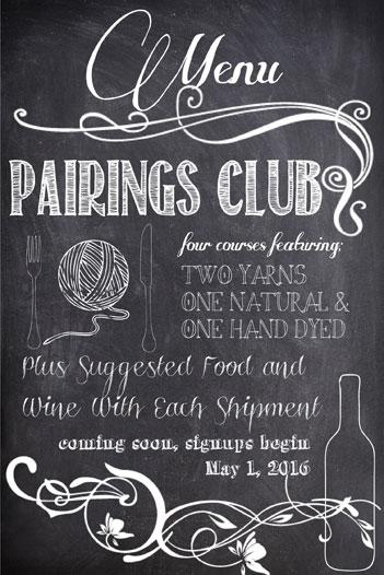 pairings-menu