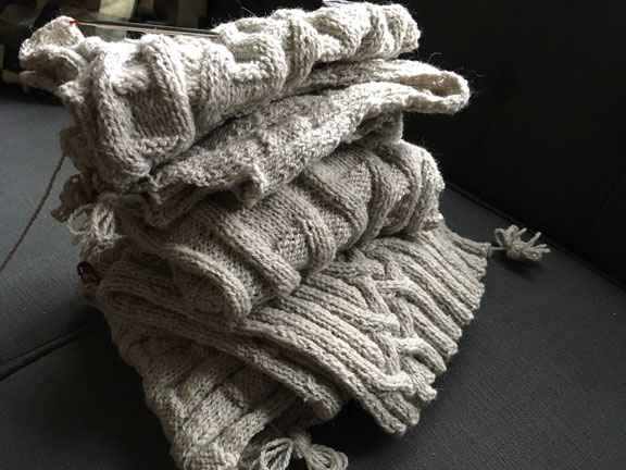knitting landscape