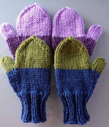 KNITTING PATTERN FOUR NEEDLE MITTENS 1000 Free Patterns