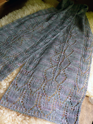 Quick Lace Scarf Knitting Pattern : KNIT PATTERN SCARF THICK 1000 Free Patterns