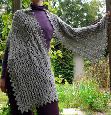 Modern Wrap Knitting Pattern Model Easy Scarf Knitting Patterns